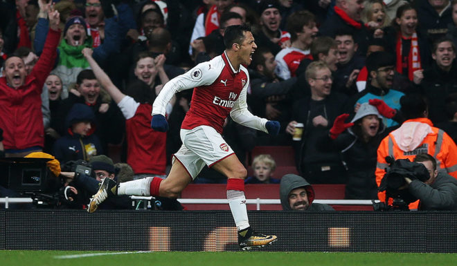 Alexis Sánchez FC Arsenal
