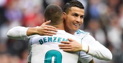 Karim Benzema Cristiano Ronaldo