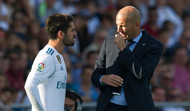 Isco Zinédine Zidane