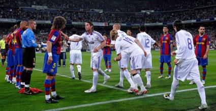 Real Madrid v Barcelona - La Liga Pasillo Spalier