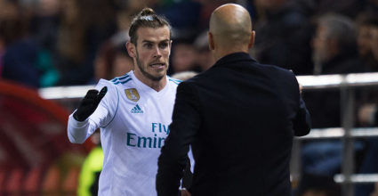 Gareth Bale Zinédine Zidane