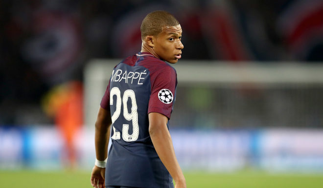 Kylian Mbappé Paris Saint-Germain