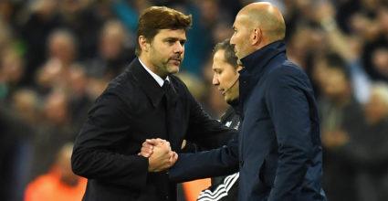 Mauricio Pochettino Zinédine Zidane
