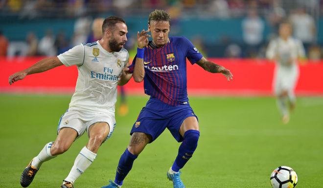 Daniel Carvajal Neymar