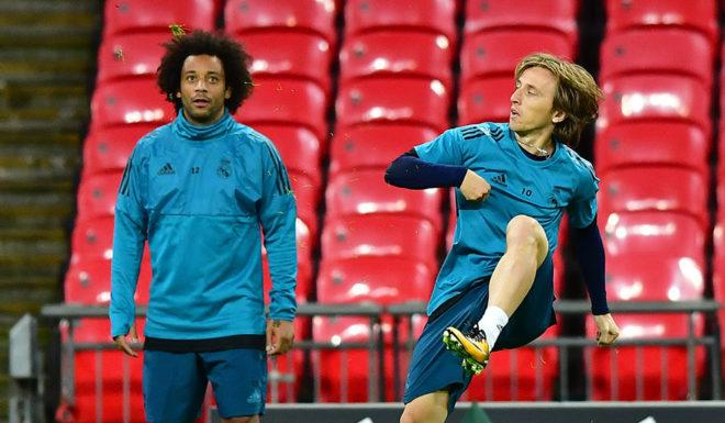 Luka Modric Marcelo