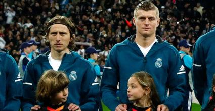 Luka Modric Toni Kroos