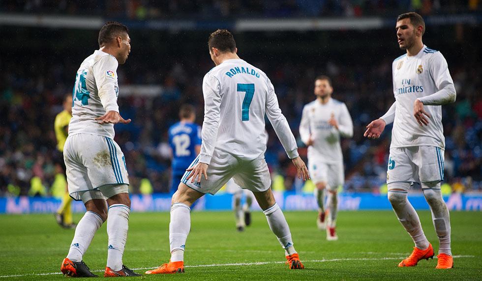 Getafe Real Madrid 0 3: Siegreich Richtung Paris: Ronaldo Führt Real Zu 3:1 Gegen
