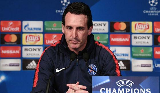 Unai Emery Paris Saint-Germain