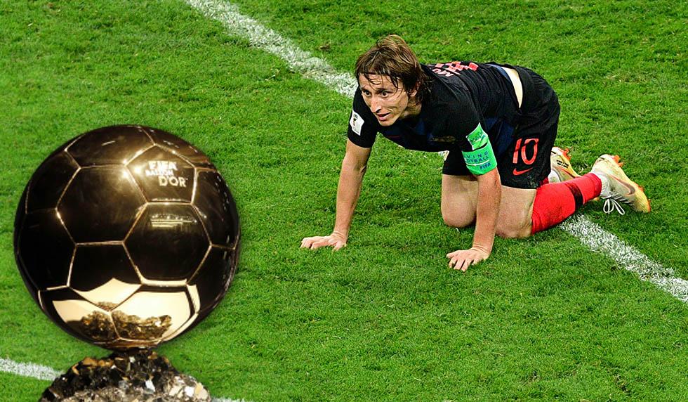 Luka Modric Pemenang Ballon D'Or 2018!