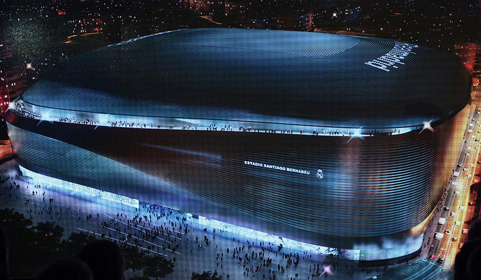 Real Madrid Stadion Neu
