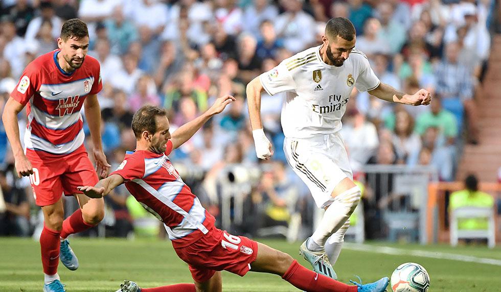 Highlights Real Madrid 4:2 FC Granada