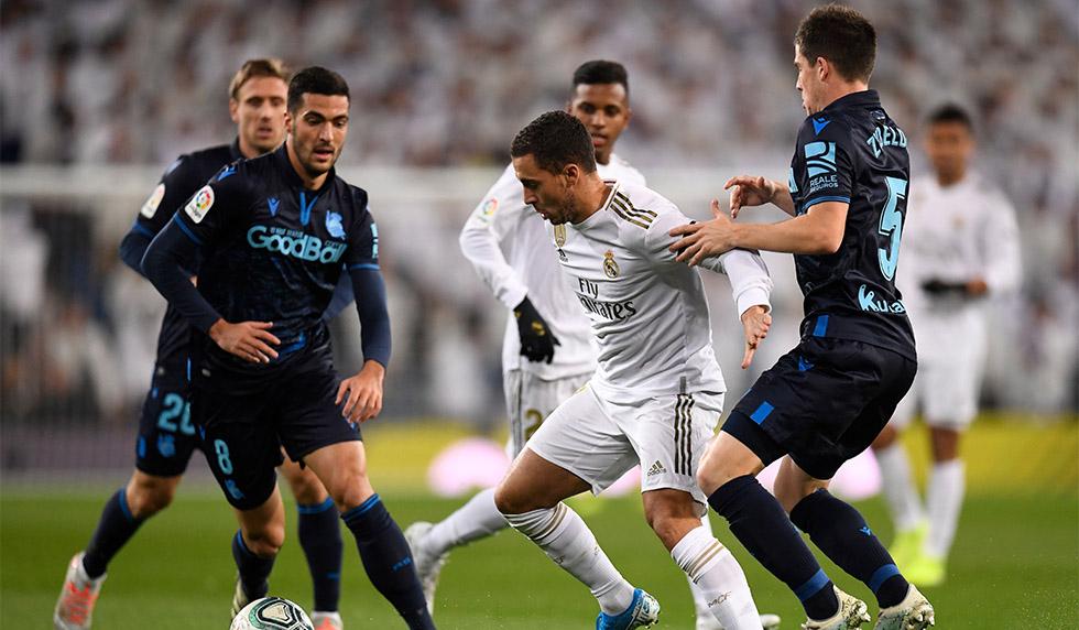 Real Madrid Gegen Real Sociedad