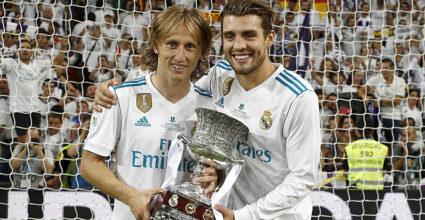 Luka Modric Matteo Kovacic